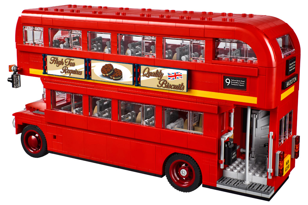 lego creator expert london bus 10258 vorgestellt. Black Bedroom Furniture Sets. Home Design Ideas