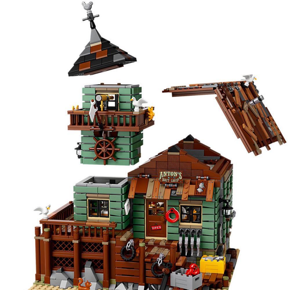 Lego ideas alter angelladen 21310 deutsche for Online fishing store