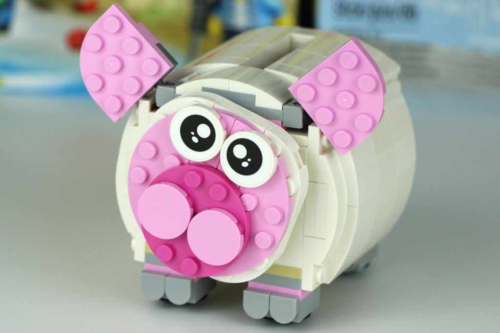 Lego mini piggy bank sparschwein 40251 im review schwein for Mini piggy banks