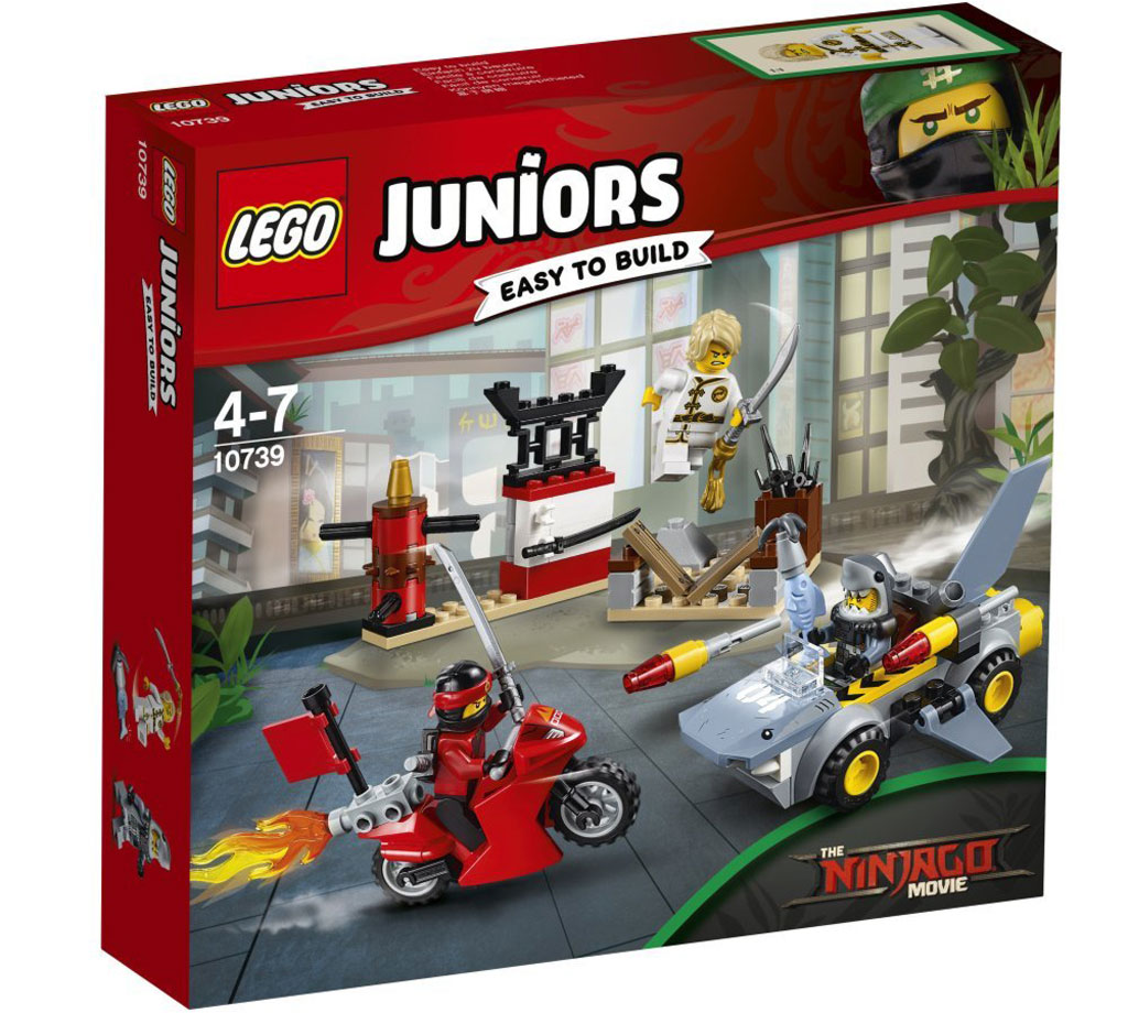 The LEGO Ninjago Movie Alle FilmSets