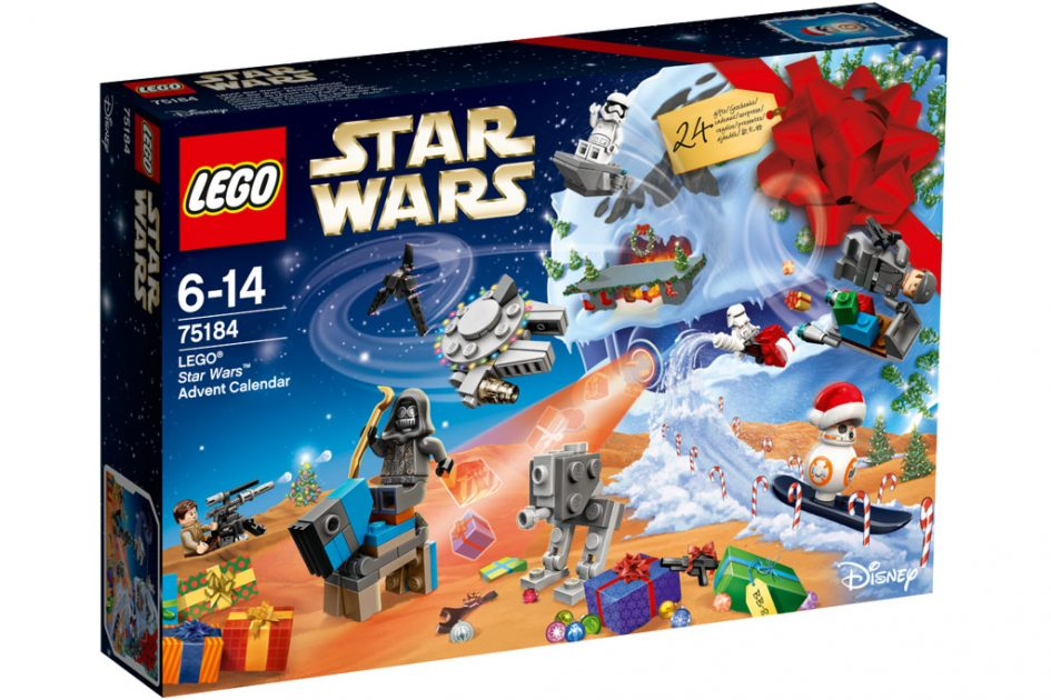 lego star wars city und friends adventskalender 2017 in. Black Bedroom Furniture Sets. Home Design Ideas