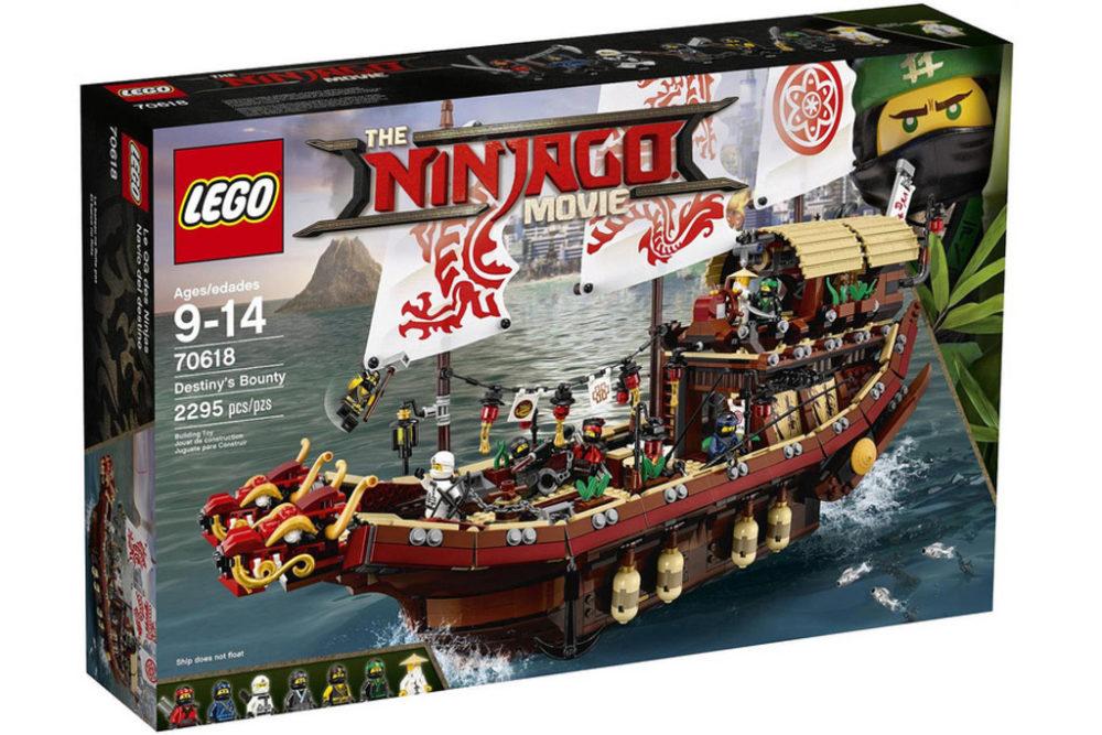 The LEGO Ninjago Movie: Ninjago Flugsegler 70618 und Co. – Preise ...