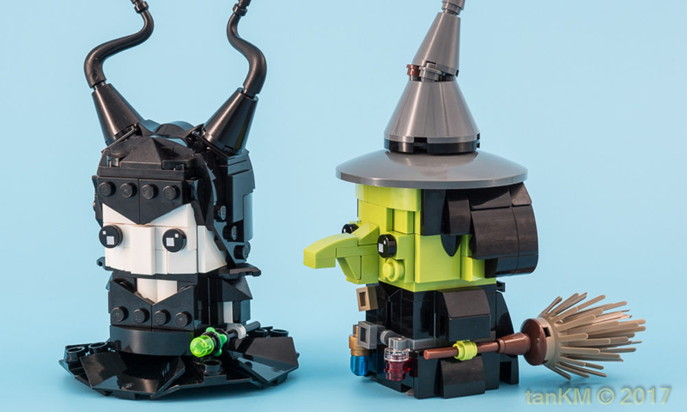 Brickheadz: Maleficent & Wicked Witch of the West by tanKM