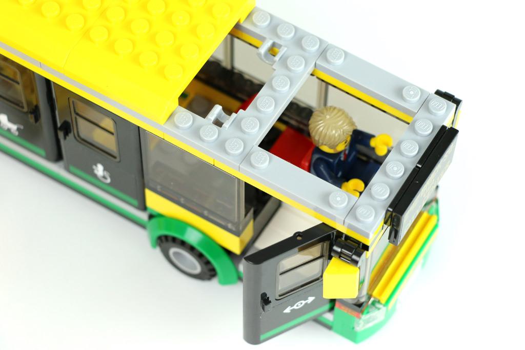 Lego City Busbahnhof 60154 Im Review Zusammengebaut