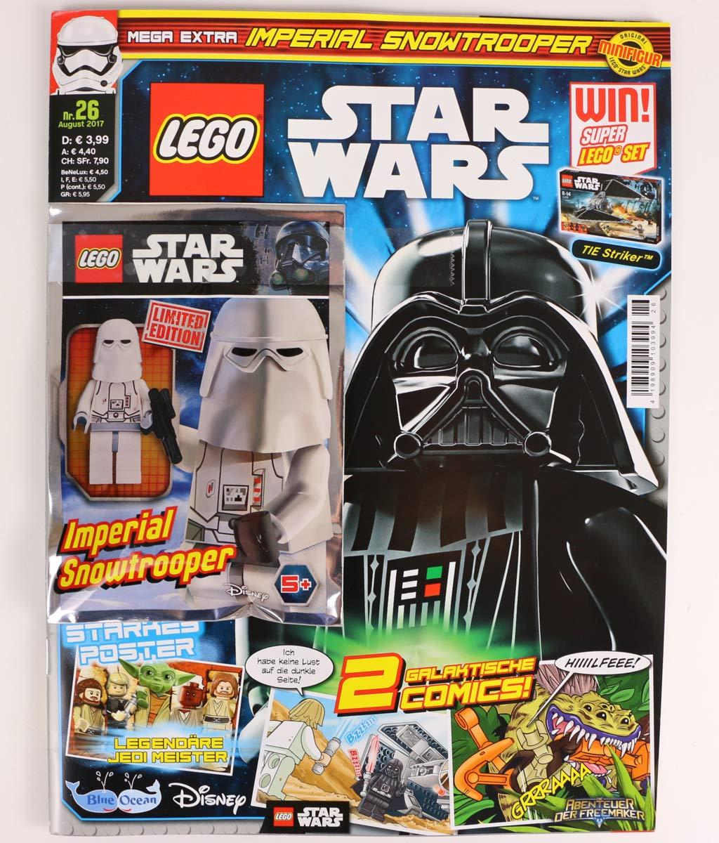 lego star wars magazin ausgabe 26 mit imperial snowtrooper im review zusammengebaut. Black Bedroom Furniture Sets. Home Design Ideas
