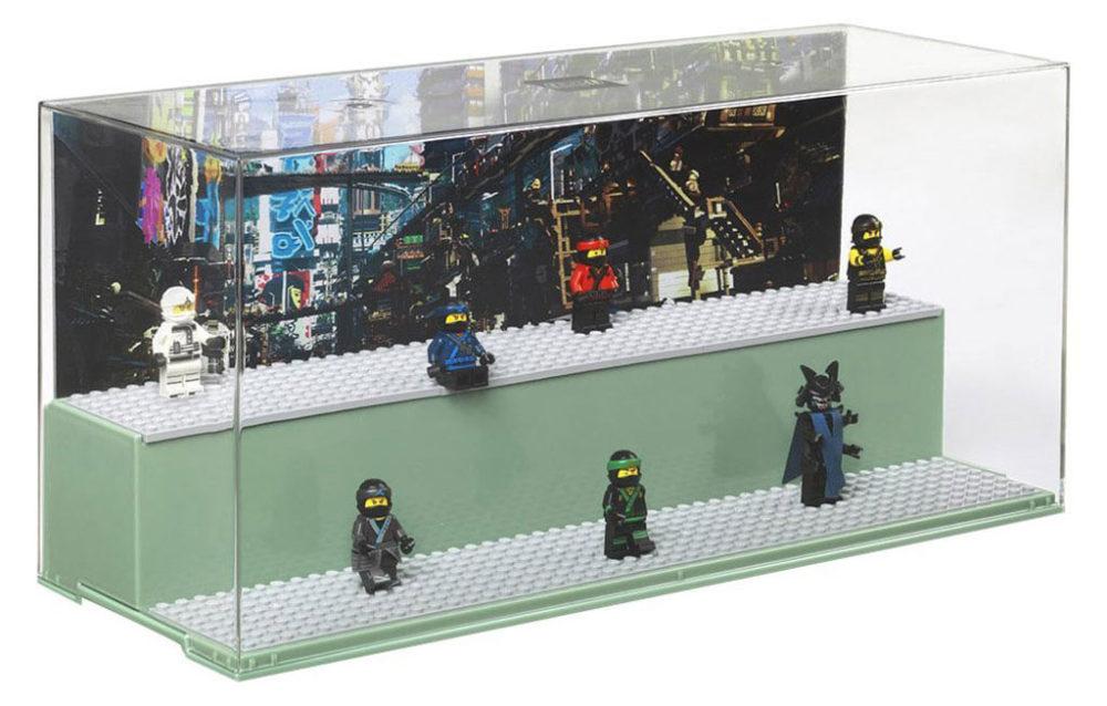 The Lego Ninjago Movie Minifiguren Display Box Zusammengebaut