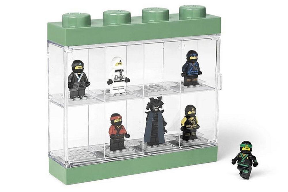 The Lego Ninjago Movie Minifiguren Vitrine Und Weiteres