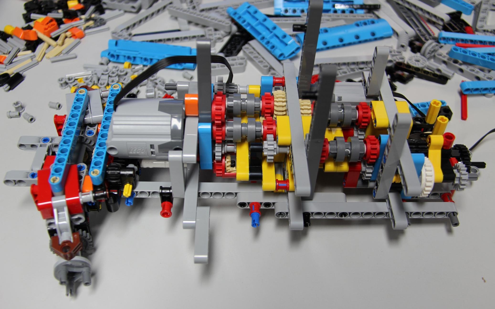 Lego Technic Allrad Abschleppwagen 42070 Im Review Zusammengebaut