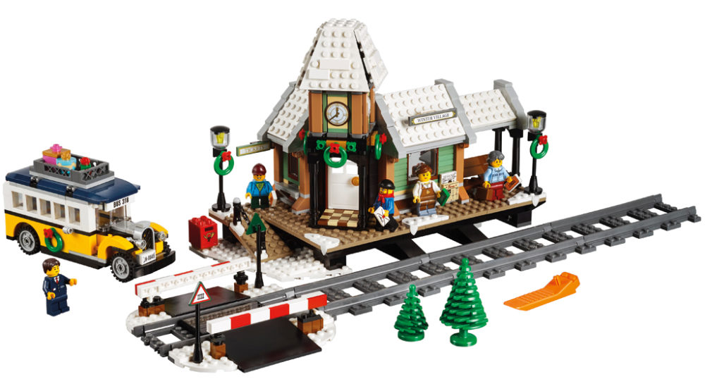10259 Winter Village Station by LEGO