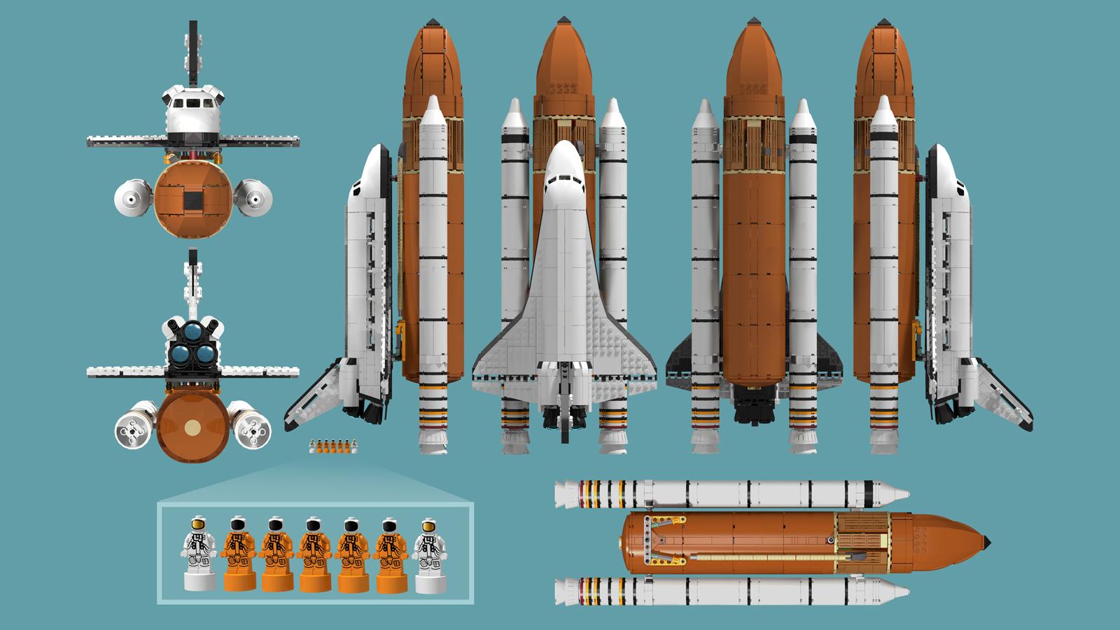 lego space shuttle orbiter - photo #25