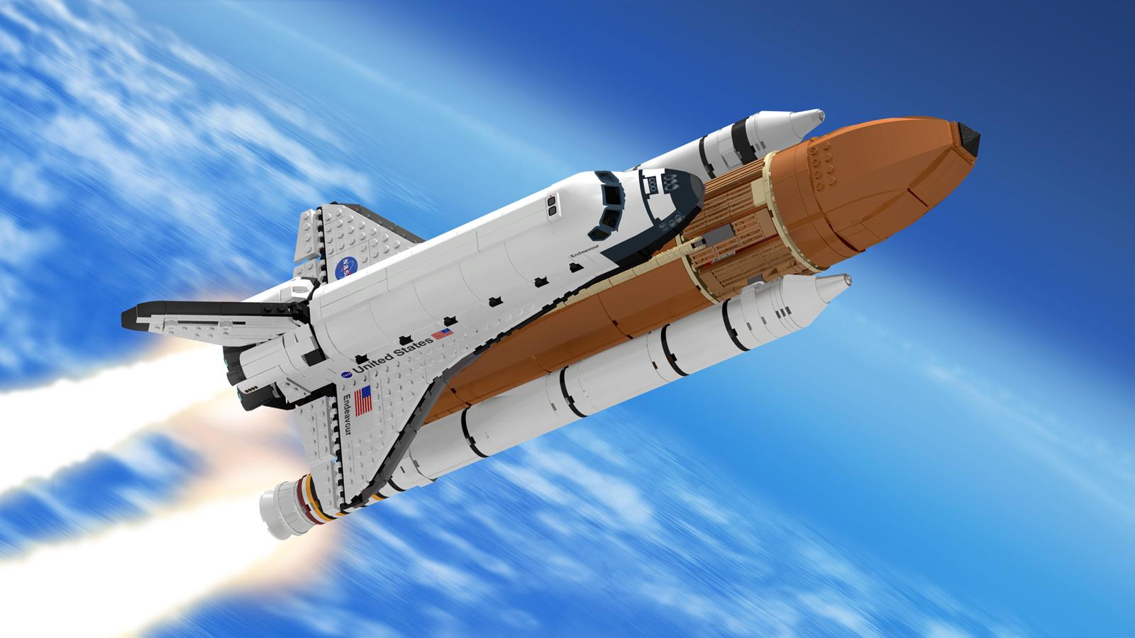 LEGO Ideas Projekt NASA Space Shuttle nimmt Hürde von 10 ...
