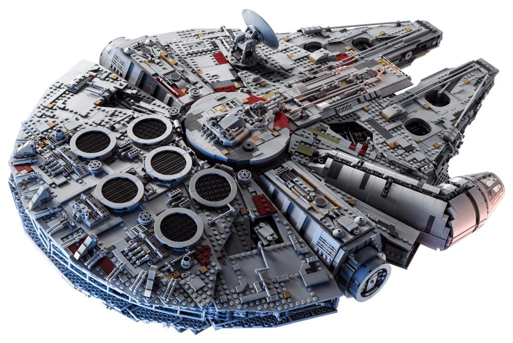lego star wars ucs millennium falcon 75192 vorgestellt zusammengebaut. Black Bedroom Furniture Sets. Home Design Ideas