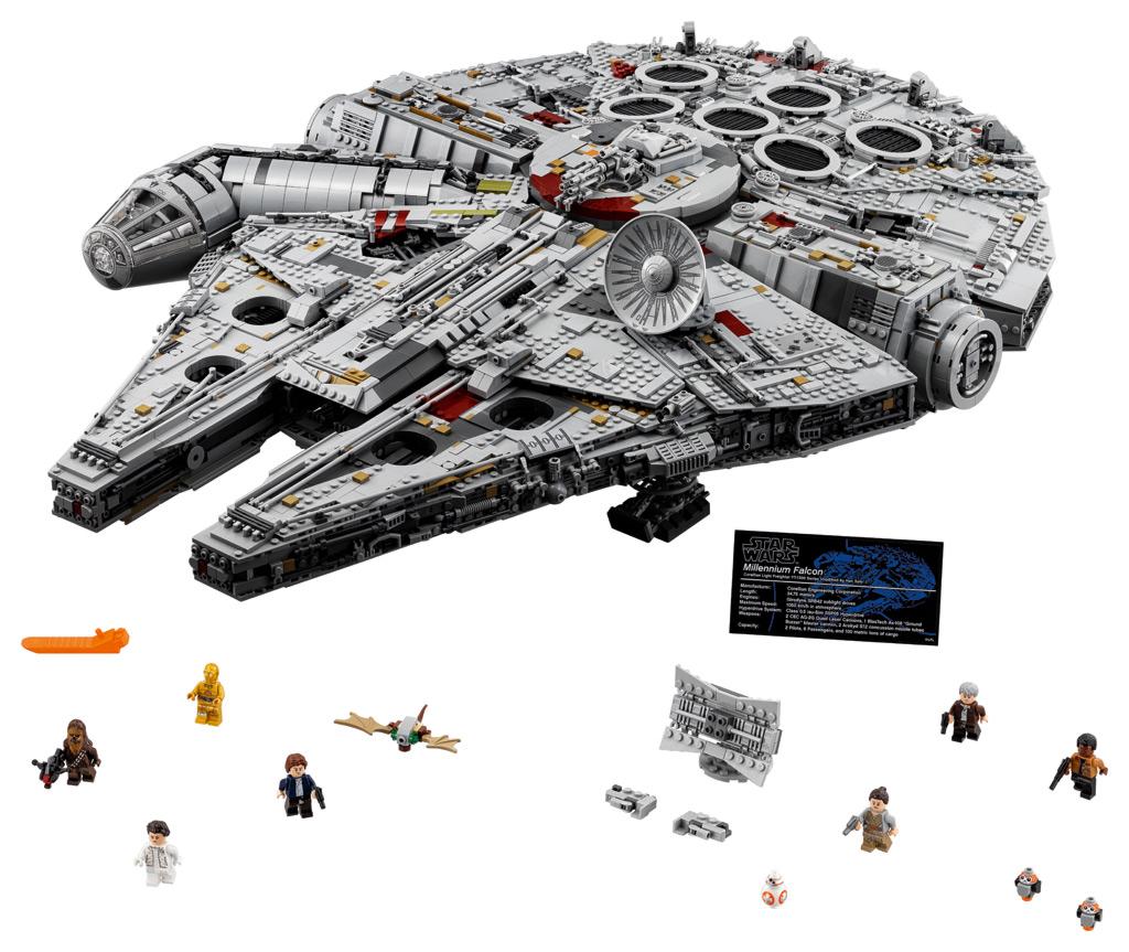 lego star wars ucs millennium falcon 75192 und 10179 im vergleich zusammengebaut. Black Bedroom Furniture Sets. Home Design Ideas