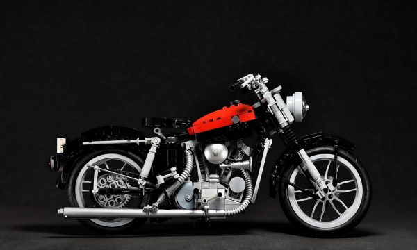 1957 Harley Davidson Sportster XL by Maxime Cheng