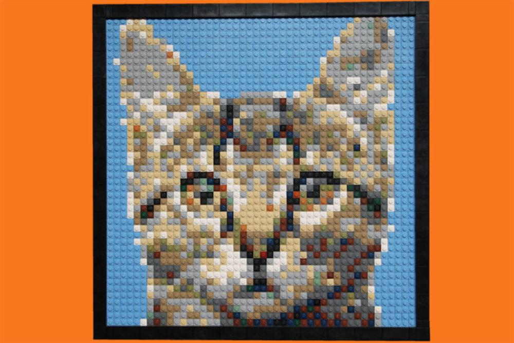 Niedlich Mosaik Bilderrahmen Fotos - Benutzerdefinierte Bilderrahmen ...