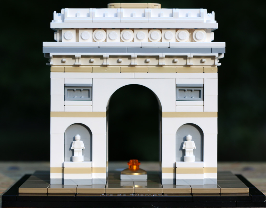 lego architecture arc de triomphe 21036 im review. Black Bedroom Furniture Sets. Home Design Ideas