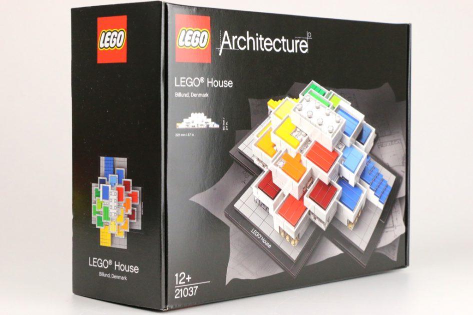 LEGO Architecture LEGO House 21037 im Unboxing | zusammengebaut