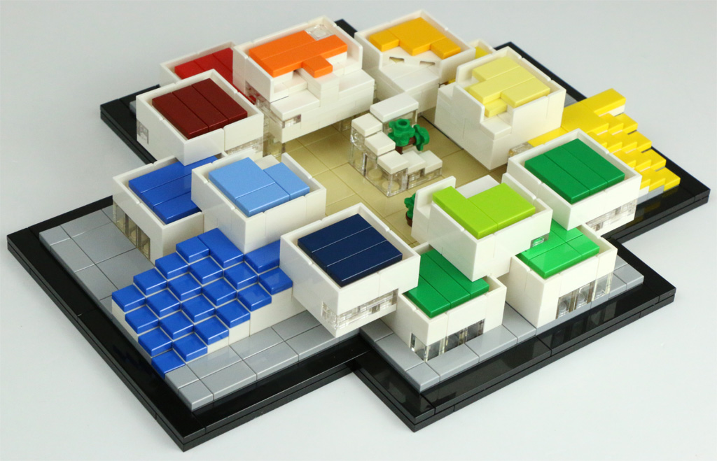 Lego house 21037 neues architecture modell im review for Lego house original