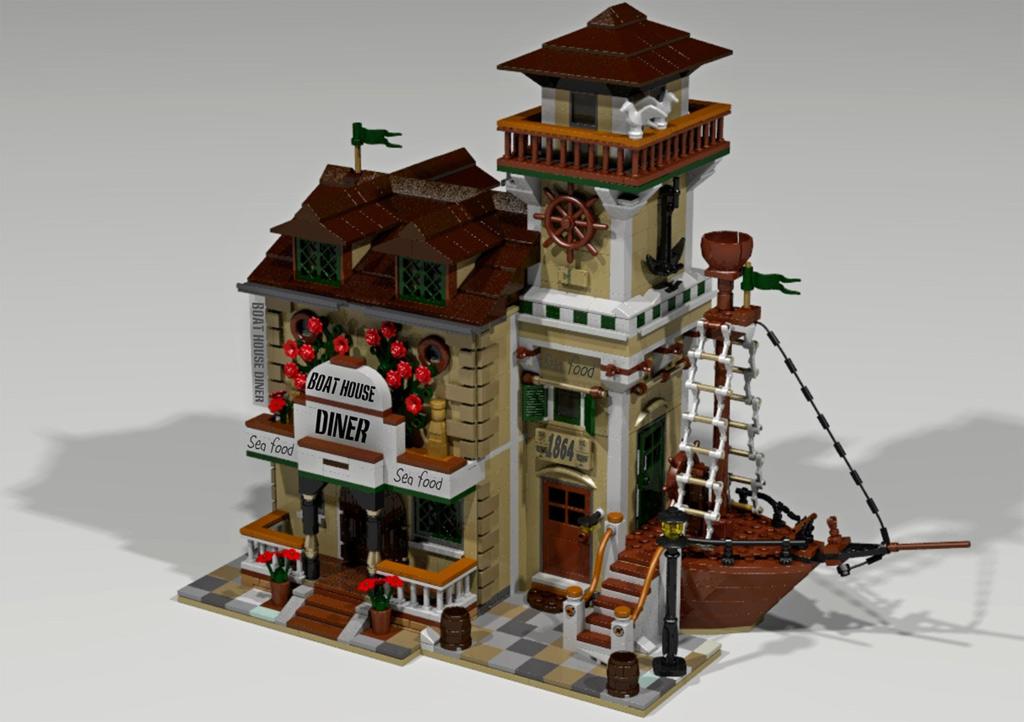 Lego Ideas Diese Sieben Entw Rfe Haben Es In Die Endauswahl Geschafft Zusammengebaut