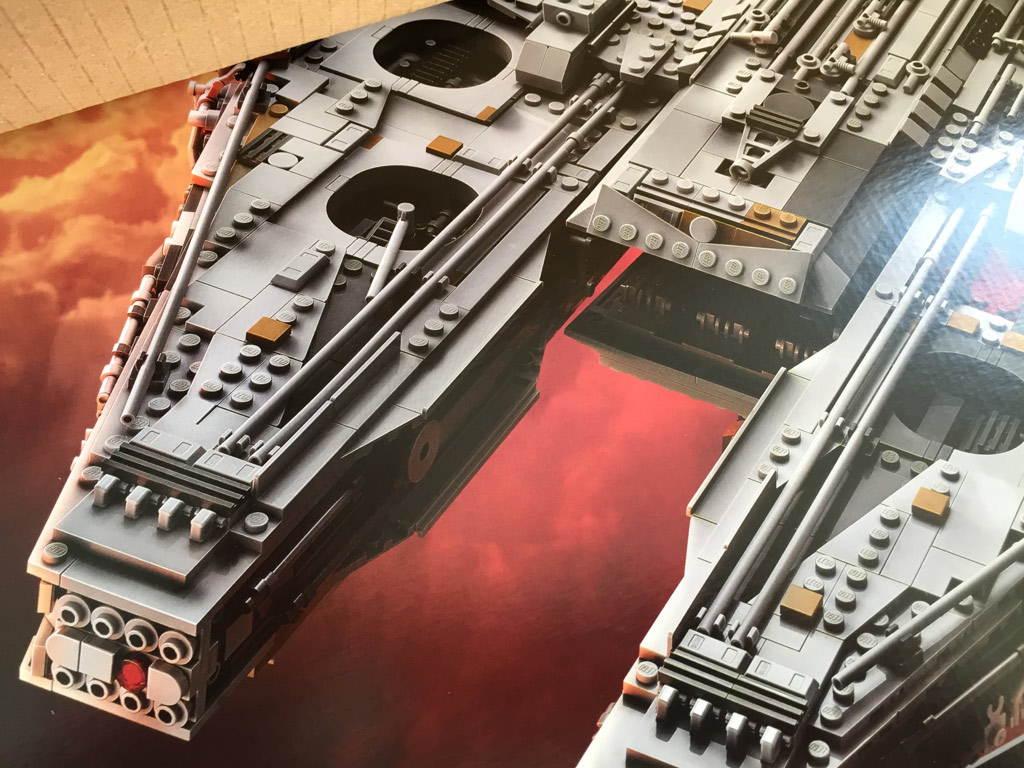 lego star wars ucs millennium falcon 75192 im unboxing zusammengebaut. Black Bedroom Furniture Sets. Home Design Ideas