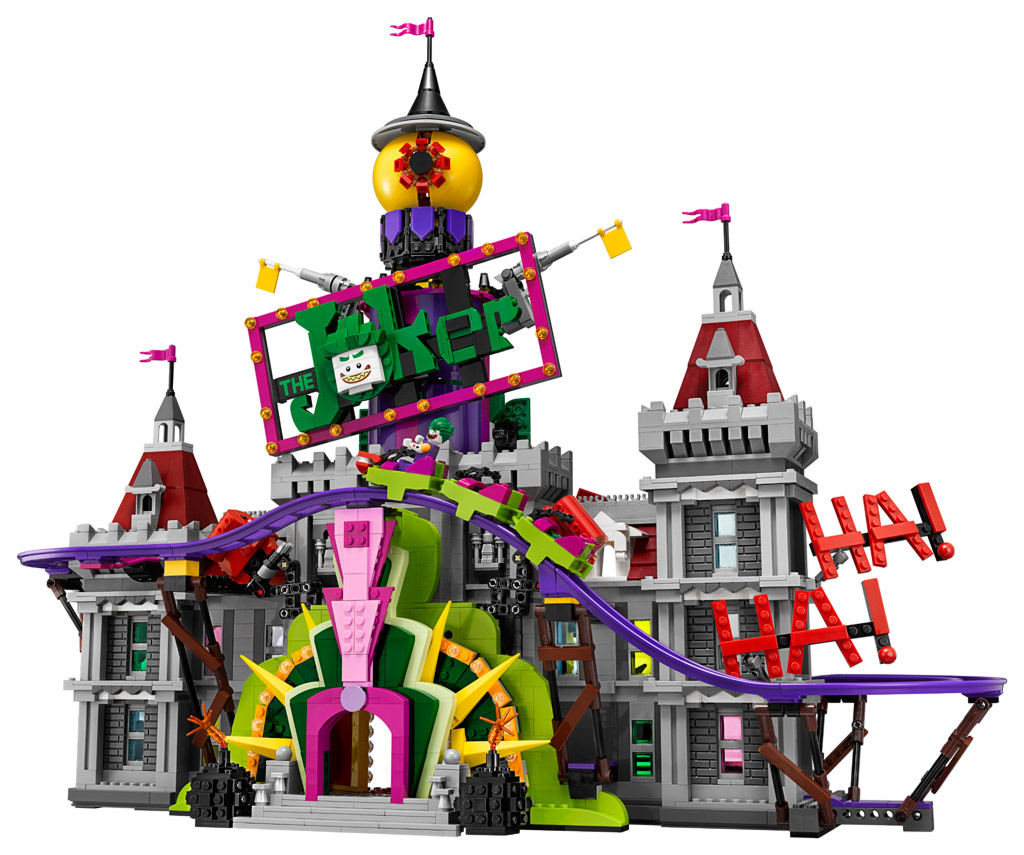 The LEGO Batman Movie The Joker Manor 70922 vorgestellt | zusammengebaut