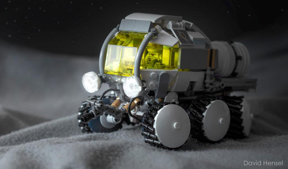 Moon Rover by David Hensel
