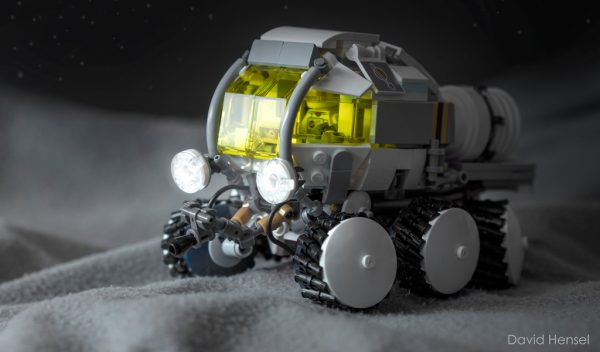 Moon Rover by David Hensel