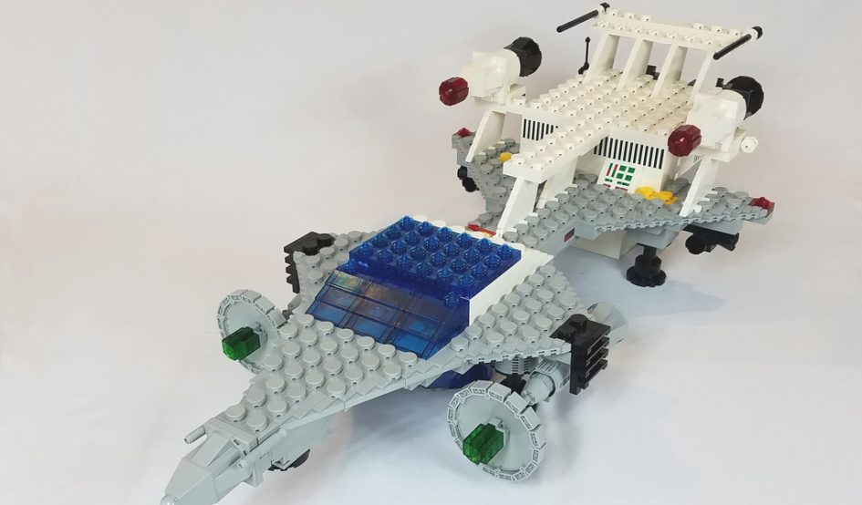 Giant Starfleet Voyager by Doctor Mobius