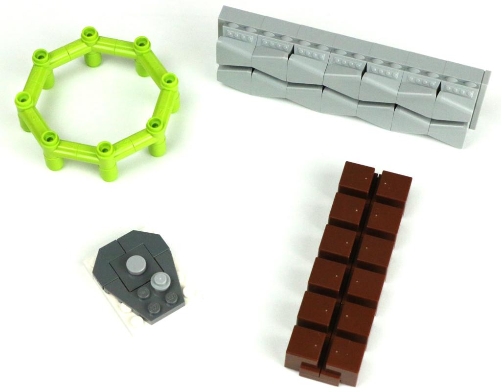 beim lego steine sortieren entstandene modelle im bilde zusammengebaut. Black Bedroom Furniture Sets. Home Design Ideas