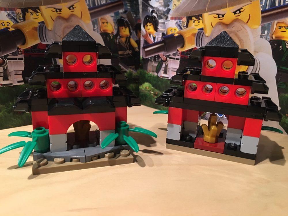 The LEGO Ninjago Movie Mini-Tempel: Bauanleitung