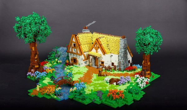 Snow White and the Dwarfhouse by César Soares