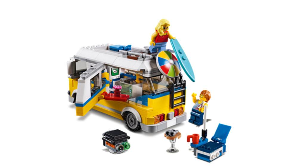 31079 Lego /'Creator Sunshine Surfer Van/' Set