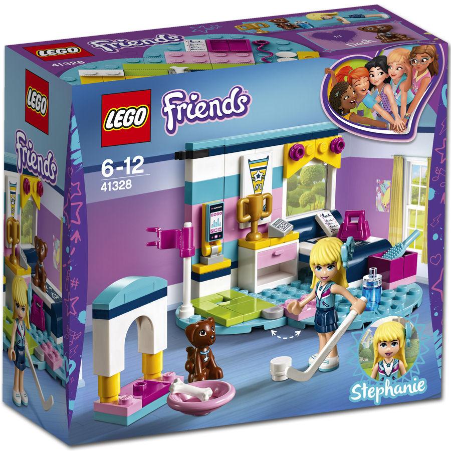 lego friends stephanies bedroom 41328 2018 box