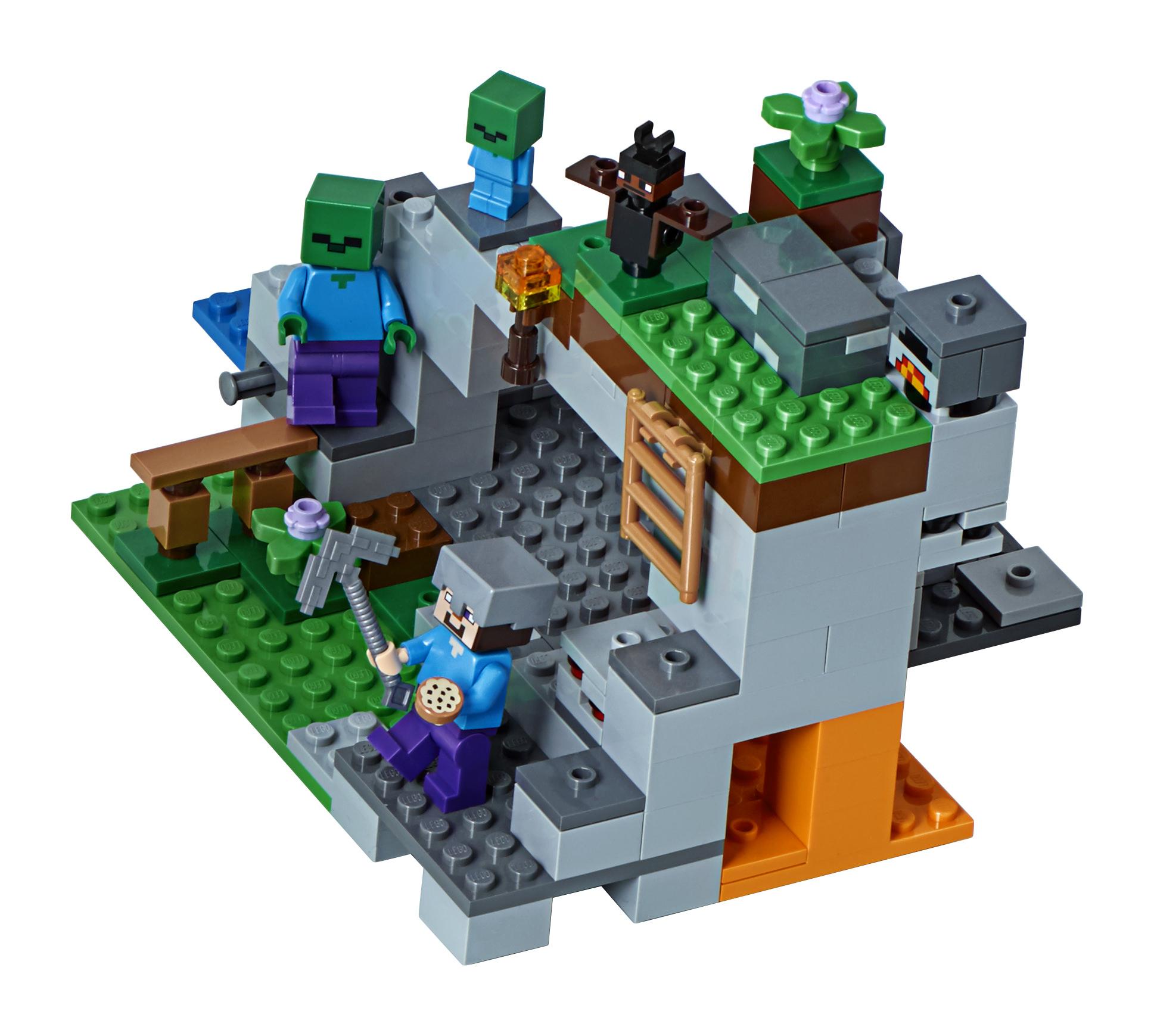 lego minecraft 2018 sieben neue sets in der bersicht. Black Bedroom Furniture Sets. Home Design Ideas
