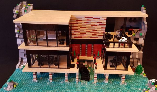 for Modernes lego haus