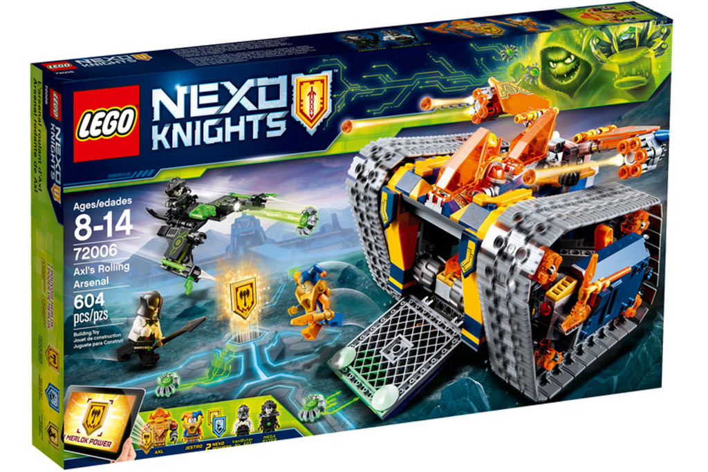 lego nexo knights 2018 neuheiten das sind die boxen. Black Bedroom Furniture Sets. Home Design Ideas