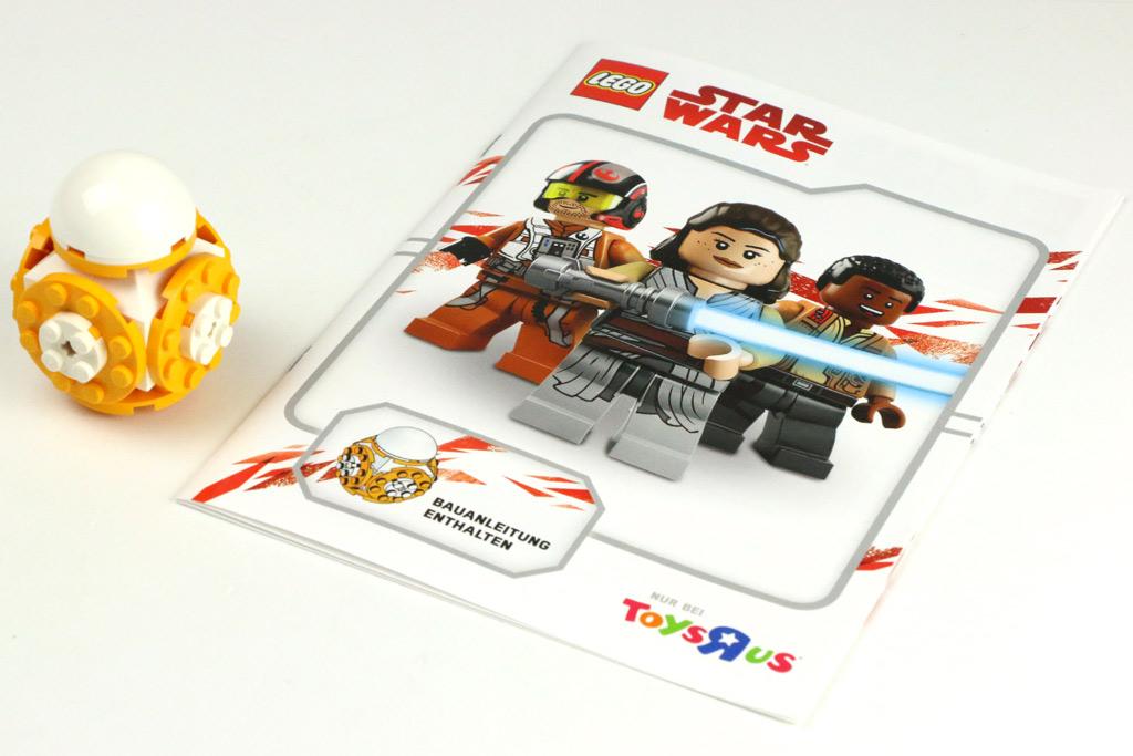 toysrus bau event lego star wars bb 8 im review und bauanleitung zusammengebaut. Black Bedroom Furniture Sets. Home Design Ideas