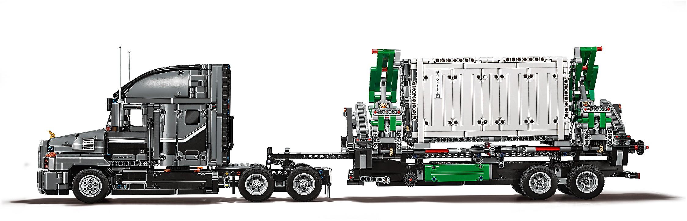 Lego Technic 2018 Sets >> LEGO Technic 2018: Mack Truck 42078 vorgestellt | zusammengebaut