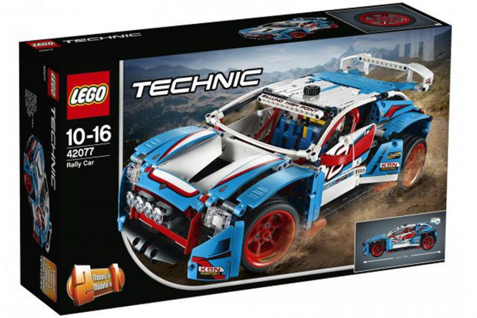 lego technic 2018 rally car 42077 fire truck 42075 und hovercraft 42076 zusammengebaut. Black Bedroom Furniture Sets. Home Design Ideas