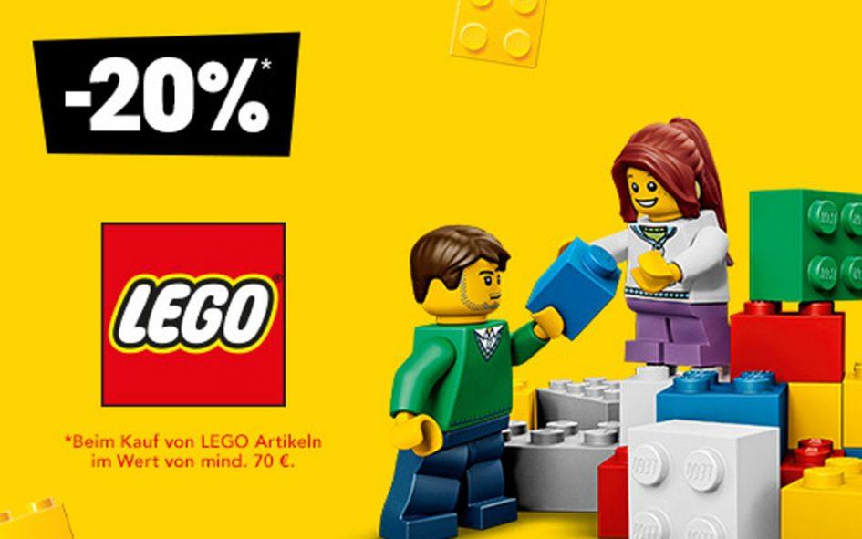 20% auf lego
