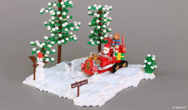 Santas sleigh by Norton74
