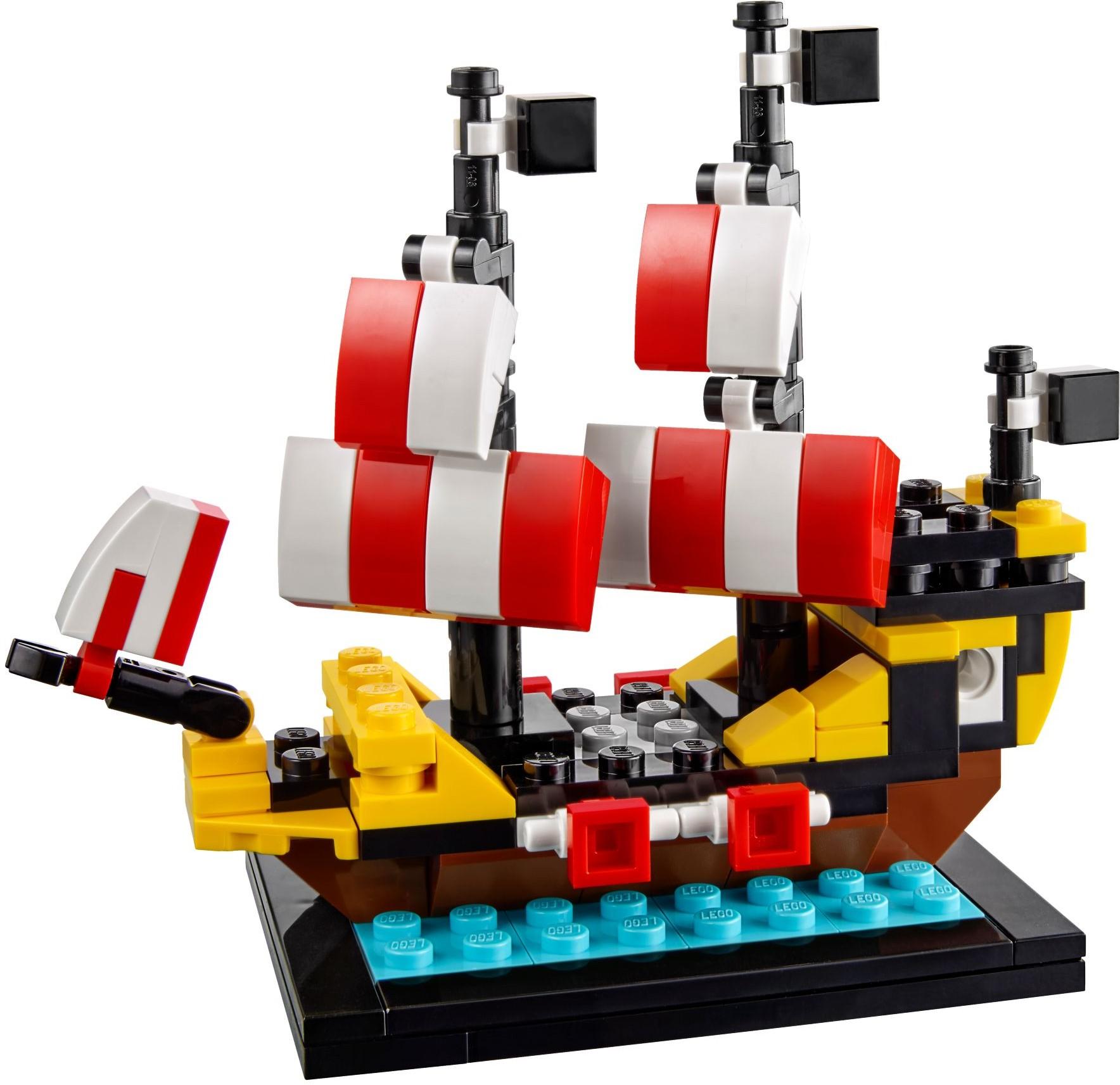 das sch nste lego set aller zeiten black seas barracuda 6285 in der mini version. Black Bedroom Furniture Sets. Home Design Ideas