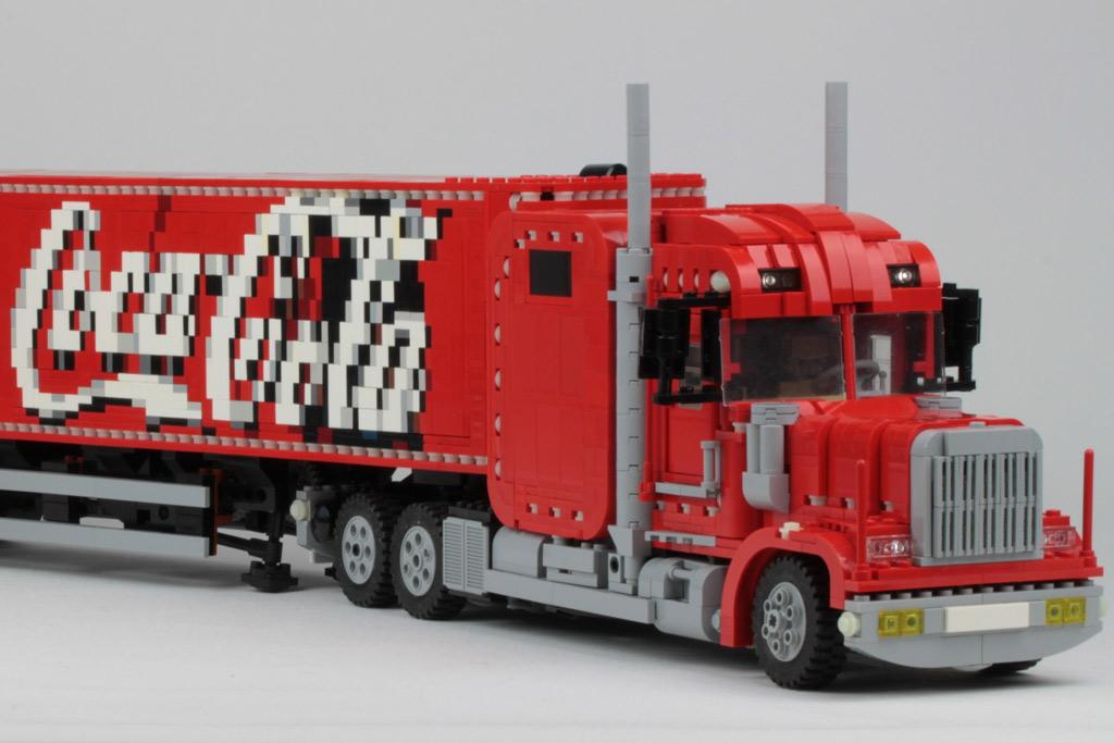 lego xmas moc coca cola truck. Black Bedroom Furniture Sets. Home Design Ideas