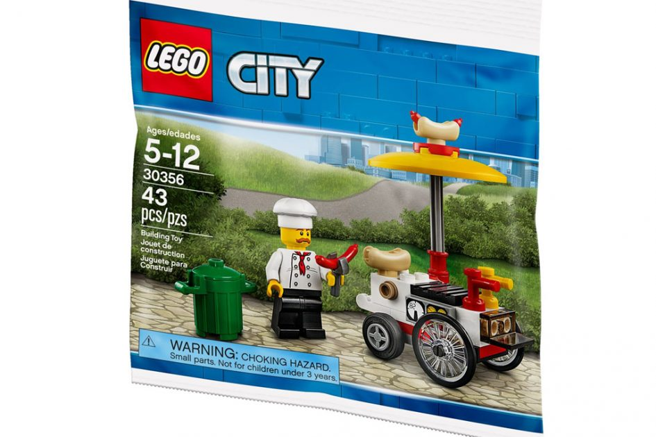 Lego City Hot Dog Stand