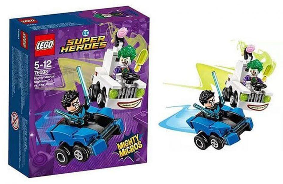 LEGO Mighty Micros 2018: DC Comics und Marvel Flitzer | zusammengebaut