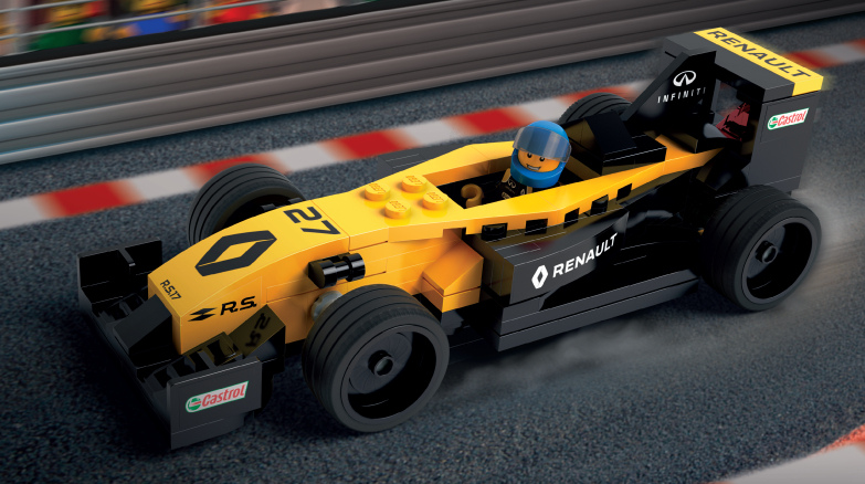 lego renault formel 1 sets offiziell aber stark limitiert. Black Bedroom Furniture Sets. Home Design Ideas