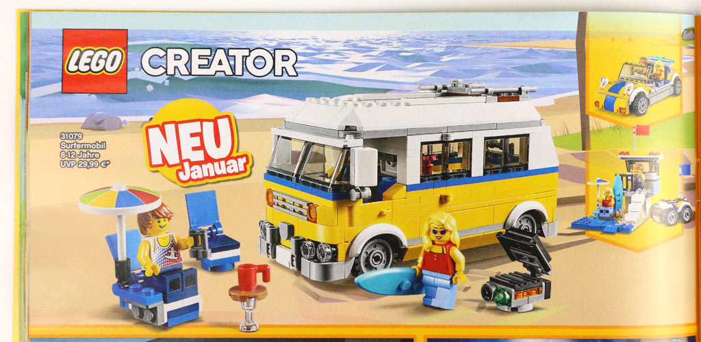 Lego®  Katalog  2018 Januar bis Juni Neu