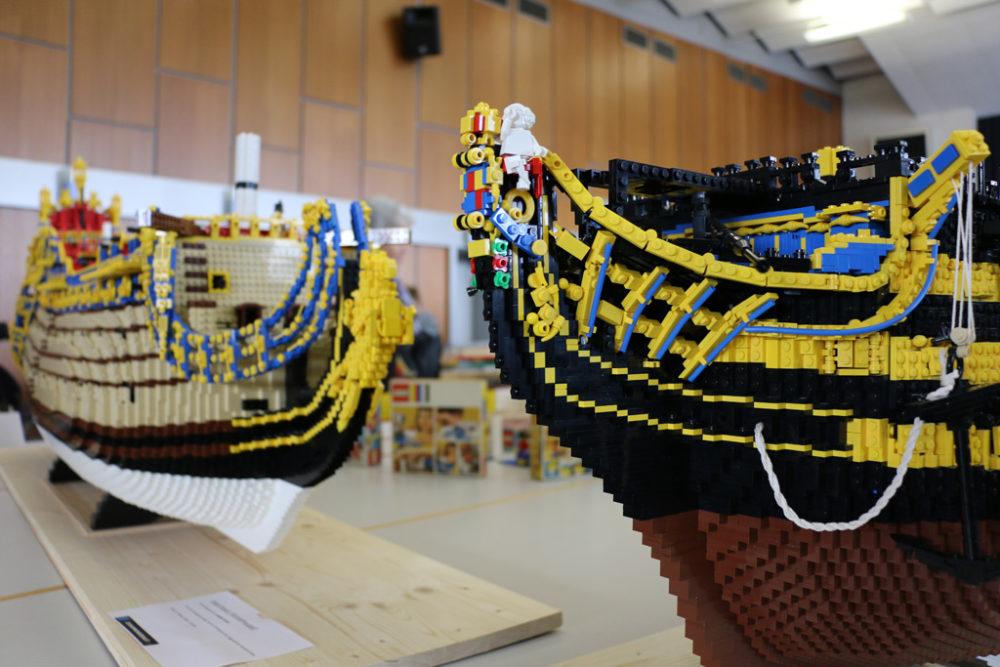 LEGO MOCs: H M S  Victory & Soleil Royal | zusammengebaut