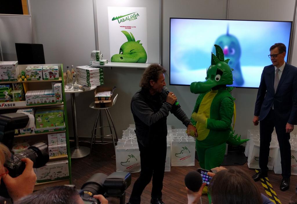 Peter Maffay auf der Spielwarenmesse