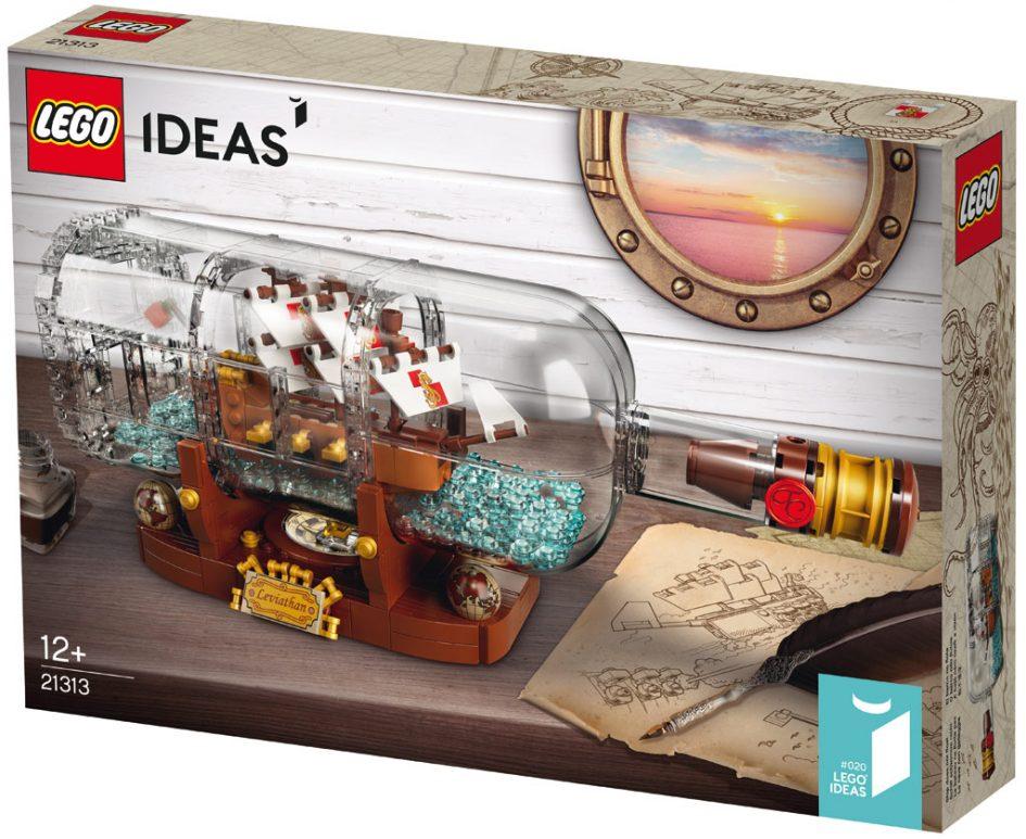 lego ideas schiff in der flasche 21313 offiziell. Black Bedroom Furniture Sets. Home Design Ideas